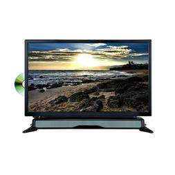 Axess 24 Widescreen HD LED TV DVD Combo W SoundBar AC/DC Pow