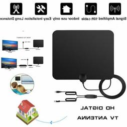 25/35/50/150 Mile Thin Flat Indoor HDTV Amplified HD TV Ante