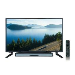 "AXESS  32"" HD TV with External Soundbar Speaker, SD Card,"