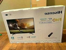 "40"" Hisense FHD 1080P H3 Series Full HD TV 40EU3000 Big Flat"