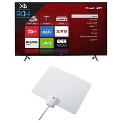 TCL 49S405 49-Inch 4K Ultra HD Roku Smart LED TV  with Wineg