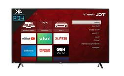 TCL 50S425 50 inch 4K Smart LED Roku TV  + Free Shipping