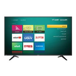 "Hisense 55"" Class 4K Ultra HD  HDR Roku Smart LED TV"