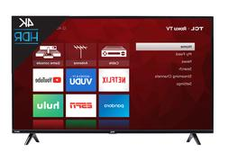 TCL 55 inch 4K Ultra HD HDR Roku Smart TV with 3 x HDMI 2019