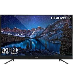 "Skyworth U5A Series 55"" Inch 4K UHD LED HDR A53 Quad-Core An"