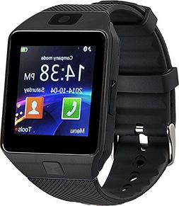 Proscan PBTW360-BLACK Bluetooth Camera Smart Watch
