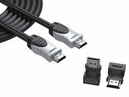 Pwr 25 Ft 4K HDMI Cable 2.0 for PS3 PS4 Pro Xbox 360 Apple-T