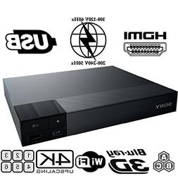 SONY S6200 2K/4K Multi System Blu Ray Disc DVD Player - PAL/