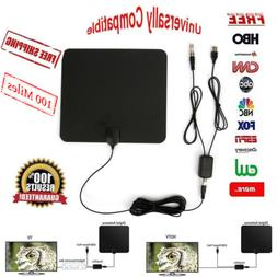 ViewTV 60 Mile Flat HD Digital Indoor Amplified TV Antenna -