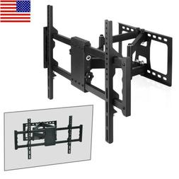 Adjustable TV Wall Mount Bracket Full Motion Double Arm for