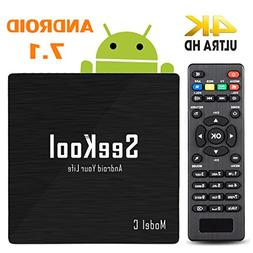4K Android 7.1 TV Box – SeeKool 2018 Model C Smart TV Box