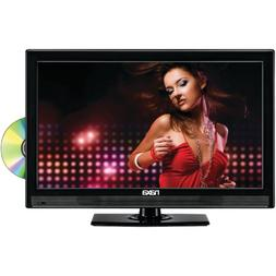 "Naxa 19"" Class LED HDTV with Built-in DVD Player, Tuner"