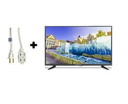 "32"" Class HD  LED TV  with 6ft Indoor 3-Outlet Extension Cho"