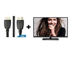 "32"" Class HD  LED TV  Plus HDMI 2.0 Cable with Ethernet High"