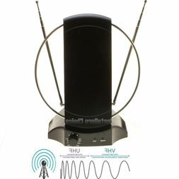 Digital HDTV Antenna Indoor Stand Amplified TV Signal Booste