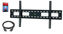 EASY MOUNT – Extra Slim Flat TV Wall Mount Bracket + High
