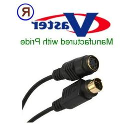 Extension Cable for Video/SVideo/SVHS Cable 4-pin Male to Fe