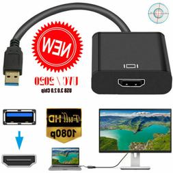 HD 1080P HDMI to USB 3.0 Video Cable Adapter Converter For P