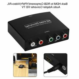 HDMI to RGB Component  Video +R/L Audio Adapter Converter HD