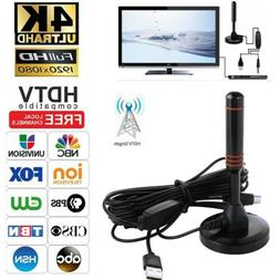 Indoor 300 Mile HDTV Antenna Aerial HD Digital TV Signal Amp