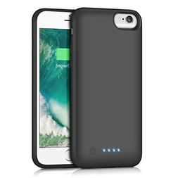 iPhone 6S / 6 Battery Case  Capacity, Gixvdcu Rechargeable P