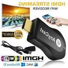 1080P Full HD WiFi HDMI TV Stick AnyCast DLNA Wireless Chrom