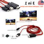 1080P 11Pin MHL Micro USB to HDMI HDCP HD TV Cable for Andro