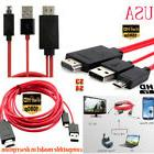 11Pin 1080P MHL Micro USB to HDMI HDCP HD TV Cable for Andro