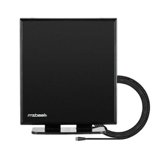 150Mile 1080P Indoor Amplified HD Digital TV Antenna VHF UHF Stand