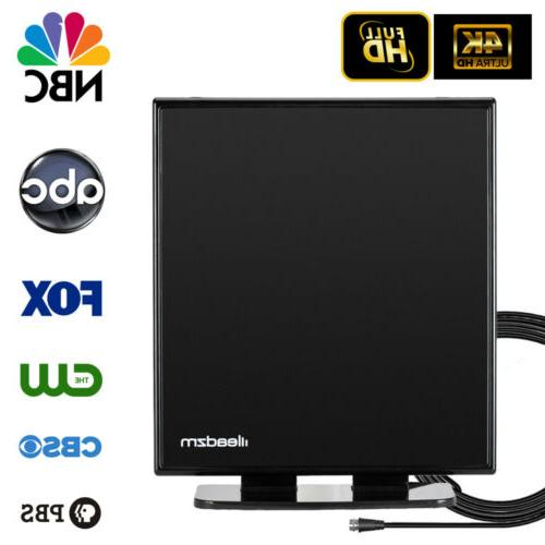 200 Miles Standing Amplified TV Antenna HD Digital HDTV 1080
