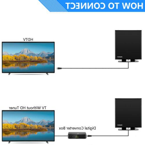150Mile 1080P Amplified Digital TV VHF UHF Stand