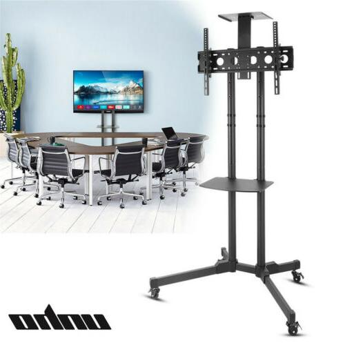 32 70 rolling mobile tv cart stand