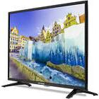 "32"" Inch HD LED TV Flat Screen Wall Mountable HDMI USB Monit"