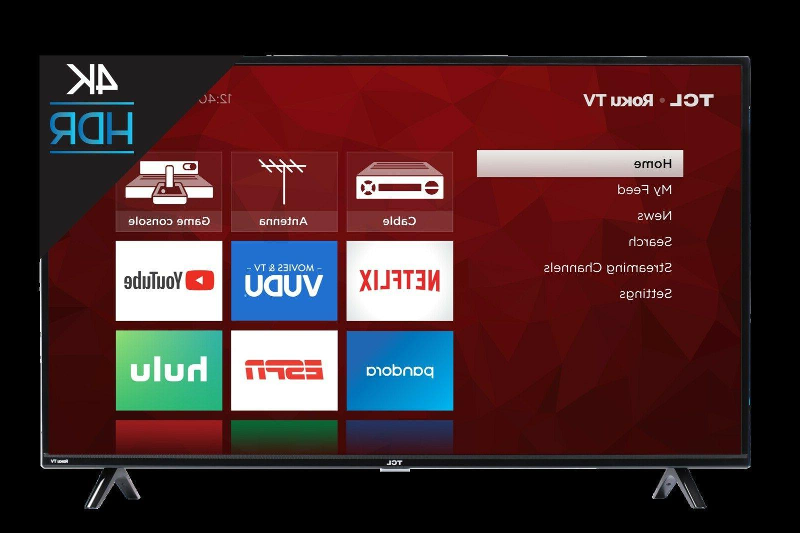 TCL Roku 55-inch Tv   Model #55FS3750