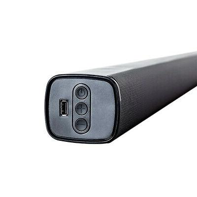 "ATYME 40"" FULL HD USB VGA & SB-100 Soundbar"