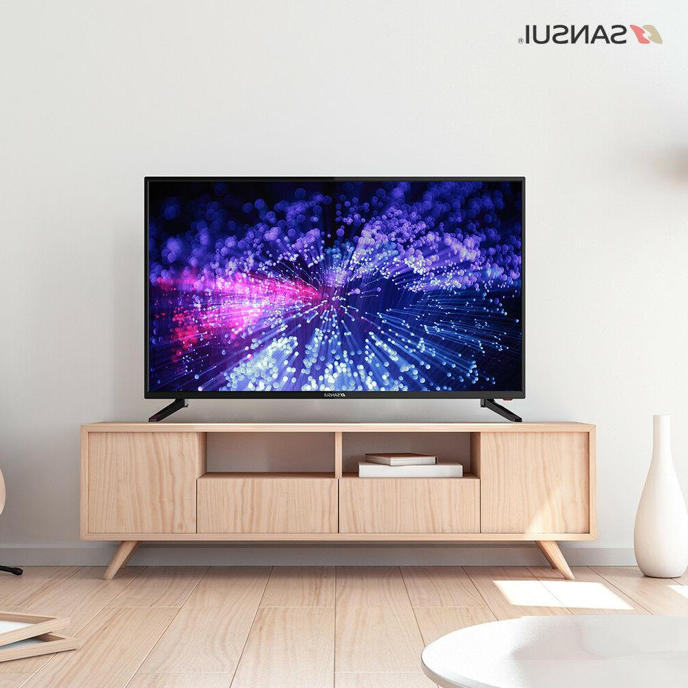 Sansui TV 2019 Model*,  HD TV   LED TV HDMI USB - Black