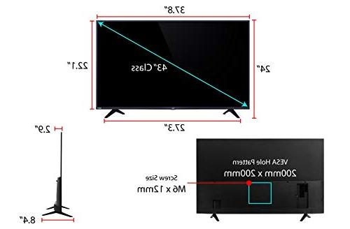 TCL 43S517 Ultra HD LED TV