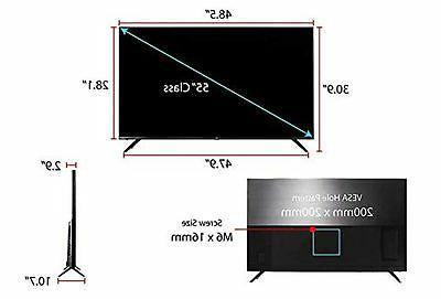 TCL 55R617 55-Inch Ultra LED TV 55