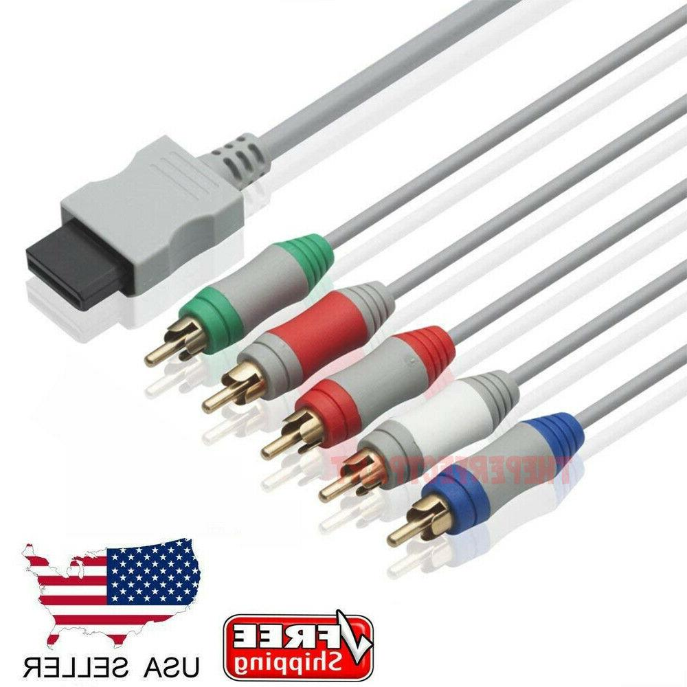 6ft hd tv component rca audio video