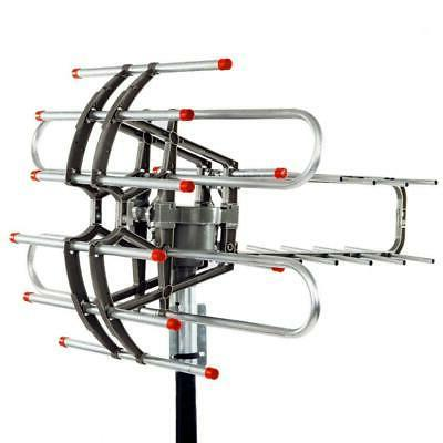 990 Mile Outdoor Amplified TV HD UHF/VHF/FM