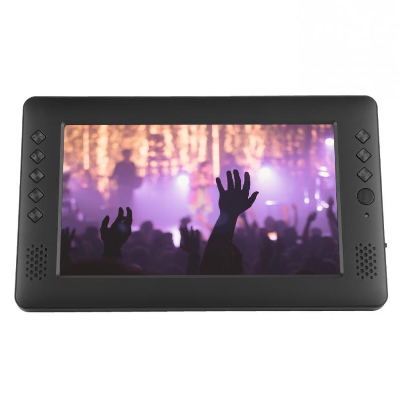 9inch Portable Television Player with WiFi Antenna <font><b>Remote</b></font> Control Plug