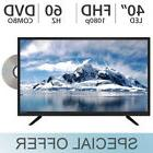 "ATYME 40"" Inch FHD 1080P FULL HD LED TV 60Hz with Built in D"