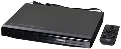 Philips Region Free DVD Player - 1080p HDMI Upconverting - P