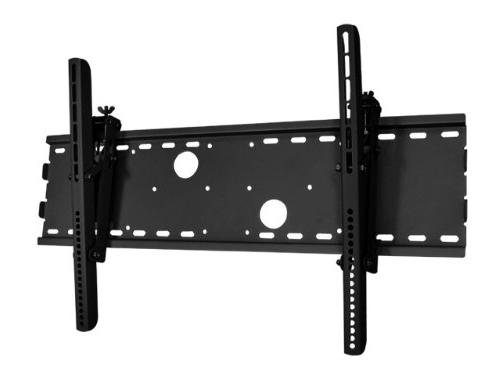 black tilt wall mount bracket