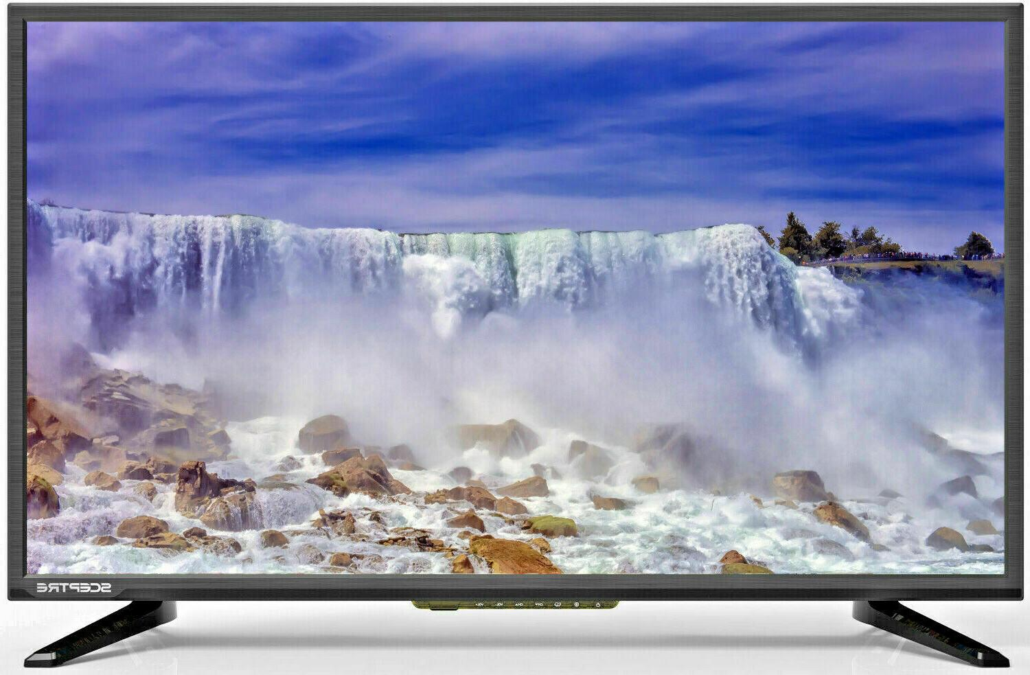 "Sceptre 32"" Class FHD FULL HDTV 1080P LED TV X325BV-FSR HDMI"