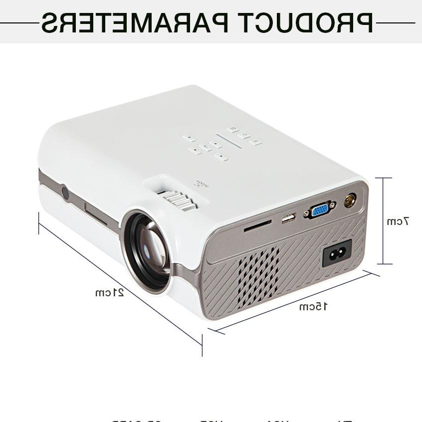 WZATCO LED Projector Beamer OS Wifi for Home Full HD 1080P <font><b>4K</b></font>