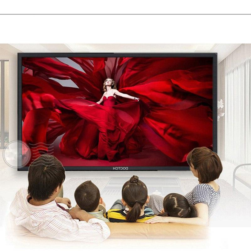 DOCTCH original 4K Network <font><b>TV</b></font> Support bluetooth with control learning entertainment game