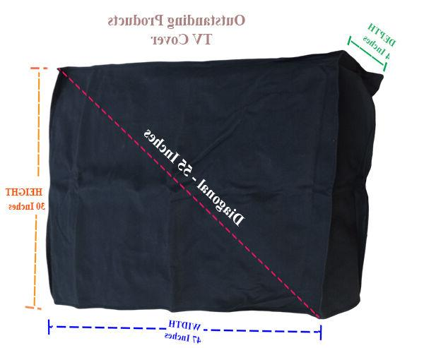 Economy Outdoor LCD / LED TV Television Cover For LG 50UH553