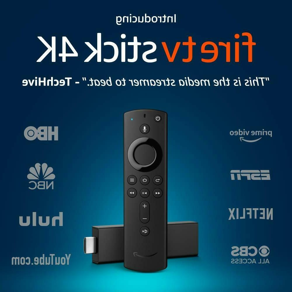 Fire TV Stick 4K with All New Alexa Voice Remote Player