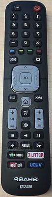 Genuine Sharp EN2A27S Smart TV Remote Control LC-65N9000U LC
